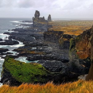 Londrangar Iceland Cliffs Islande