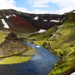 Red Crater Iceland