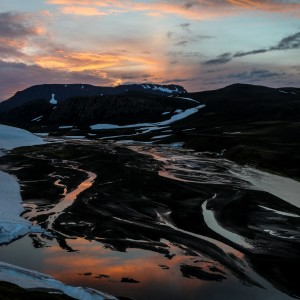 River Delta Dalakoffi Hut Iceland
