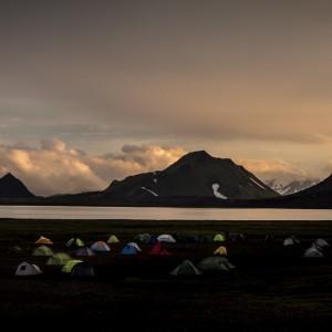 Alftavatn Lake Camping Iceland