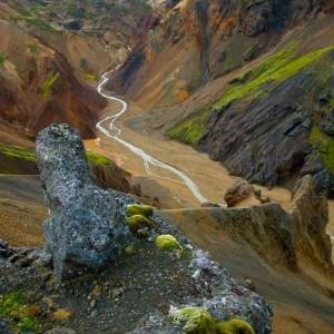 Vondugill Laugavegur Iceland