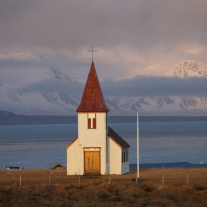 West Iceland Hellnar church