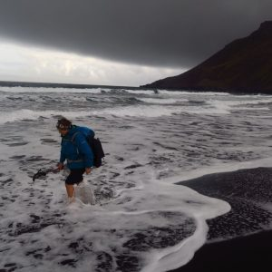 © Fjallabak Iceland Trekking - Black sand beach - The Elves Mountains