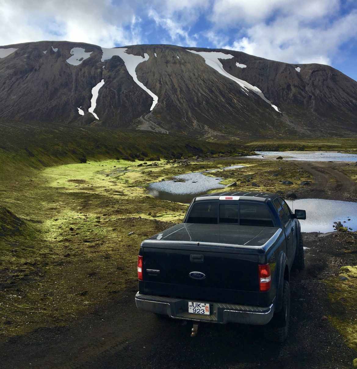 4wd on Fjallabak
